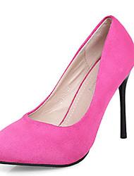 Women's Shoes Stiletto Heels / Heels Wedding / Party /Fashion Autumn Light Mouth Pointed Suede Ladies' Cclub Stilettos