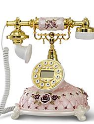 rêveuse nouveauté rose rural doux cadeau de décoration modèle antique téléphone