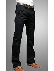 MEN - Pantaloni - Informale A vita medio-alta - Maniche lunghe Misto cotone