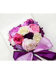 Decorações ( Azul / Rosa / Verde , Cetim / Renda ) - de Rosas