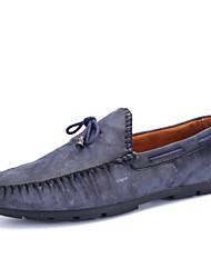 Men's Shoes Casual  Boat Shoes Blue/Brown