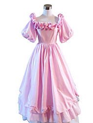 Steampunk®Civil War Southern Belle Ball Gown Dress Pink Victorian Dress Halloween Party Dress