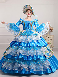 steampunk®classic 18ème siècle marie antoinette robe de soirée halloween robe victorienne de robe inspirée