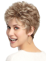 nouvelle dame de la mode fil de température populaire haute perruques courtes peuvent être très chaude peut être teint image couleur