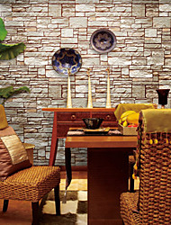 Contemporary Wallpaper Art Deco Stone Grain Wallpaper Wall Covering PVC/Vinyl Wall Art