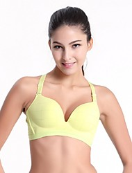 Clothin Women/Ladies Shockproof Racerback Seamless Gym Bra Sports Tank Top Bra