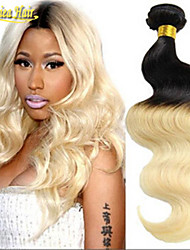 8A New 3Pcs Lot 1B/613 Two Tone Straight Hair Brazilian Straight Hair Bundles Top Quality Products Human Hair Weave
