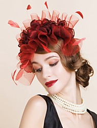 Women's Polyester Headpiece-Wedding Special Occasion Headbands 1 Piece