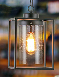 Vintage Loft Nostalgic American Country Retro Glass Edison Pendant Lamp  Room Restaurant Home Decor Lighting