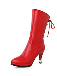 Women's Shoes  / Fashion Boots Boots Outdoor / Office & Career / Casual Stiletto Heel OthersBlack   &HQ282