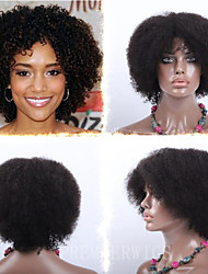 Premierwigs Wholesale Afro Kinky Curly Capless Indian Human Hair Wigs For Black Women Free Maintenance