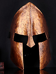 Cool 300 Spartan Cosplay King Leonidas Golden Mask Halloween Props For Halloween Party 1 PC