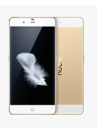 "Nubia My PRAGUE  5.2""  4G Smartphone(Dual Camera,8.0Mp+13.0Mp,Android 5.0,OTG,HiFi,MSM8939 Octa Core,1.5Ghz,3GB+32GB)"