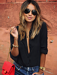 Blouses Cotton Shirts Women Blouse Casual Ladies Top Turn-Down Collar Tops Woman Shirt Long Sleeve Blusa Feminina
