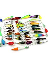 Mixed 8 Models Fishing Baits  Fishing Lures Set (40pcs)