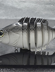 Hot Selling Hard Plastic SwimBait  Sunfish Soft Tail Lure for Fishing