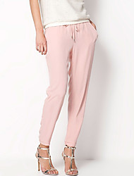 Women's The New Comfort Brightly Colored Elastic Waist Casual Harem Pants