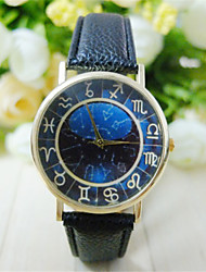 Unisex Vintage Roman Numerals Women Watch Leisure Fashion Students WristWatch Constellation Quartz Watch Wrist Watch Cool Watch Unique Watch