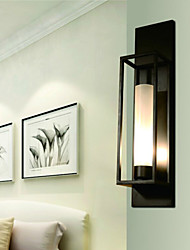 Wall Lights/ Wall Sconces Rustic/Lodge Metal/ Dinning Room/ Bedroom/ Reading Room/ Metal+Glass