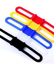 LUGERDA Bicycle Bandage Bandage Bandage Clip Slip Silicone Universal Headlight Tie