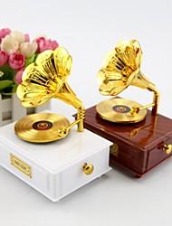 Classic Retro Gramophone Music Box Music Box Creative Ornaments