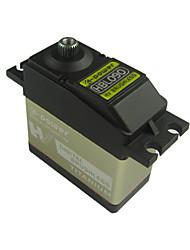 k-poder hbl090 9 kg-cm de alta velocidade hv brushless servo de direcção para 1: 01/08: 10 carro rc