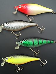 4 pcs Harte Fischköder / Angelköder Harte Fischköder / kleiner Fisch Phantom 14 g Unze mm Zoll,Metall / Fester KunststoffSeefischerei /
