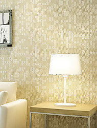 Contemporary Wallpaper Art Deco 3D Silk Wallpaper Wall Covering Non-woven Fabric Wall Art