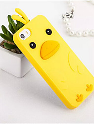For iPhone 5 Case Case Cover Shockproof Back Cover Case 3D Cartoon Soft Silicone for Apple iPhone 7 Plus iPhone 7 iPhone SE/5s iPhone 5