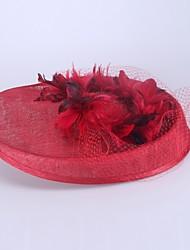 Femme Lin Casque-Mariage / Occasion spéciale Chapeau 1 Pièce