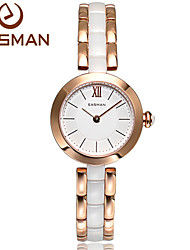 EASMAN® Brand New luxury Women Ceramic Watch Ceramic Quartz Watch Noble Multicolor Casual Wristwatches For Ladies Watches Cool Watches Unique Watches