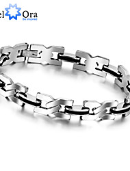 New 2015 Fashion Punk Bracelets & Bangles Titanium steel Bracelet For Men