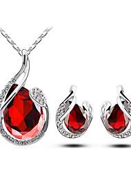 Lofeis Women's Korean-style High Quality Elegant Fashion Alloy Jewelry set