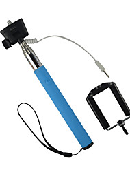 z07-5s Wired Monopod Cable Take Pole Selfie Stick for Cellphone and Camera Handheld Portrait Size:35X8X8cm