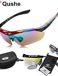 Cycling Glasses UV400 5 Lens Sports Sun Glasses Eyewear Goggle