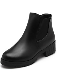 Women's Shoes  Chunky Heel Round Toe/Closed Toe Boots