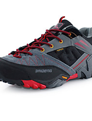 Men's Hiking Shoes Leather Black / Blue / Khaki