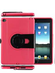imperméable à l'eau la poussière / anti-choc de devoir jusqu'à lourde avec le stand accrocher cas de couverture 360⁰ Case for iPad 2 l'air