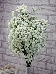 A Bunch Of 2 Fork Plastic Baby Breath Artificial Flowers(1PC)