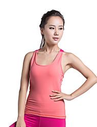 Otros Mujer Yoga Tops Sin Mangas Permeabilidad a la humeda / Materiales Ligeros Others Yoga / Fitness / Running S / M / L / XL