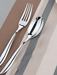 table de dongjin®elegance cuillère * 1 et fourchette de table * 1 2pcs réglés avec 18/10