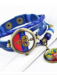 handcee® национальная эмблема подарок россии часы браслет часы пу