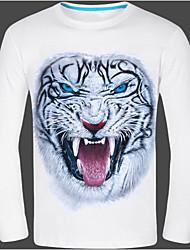 Men's Round T-Shirts , Cotton Long Sleeve Casual Fashion Fall zhengmao