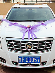 Bowknot Veil Decoration Car (Length :360cm)