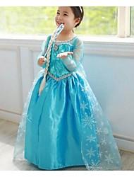 Vestido ( Algodão ) KID - Casual / Romântico / Festa