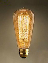 ST64 Spray Gold Retro Nostalgia Bar Decoration Light Bulbs