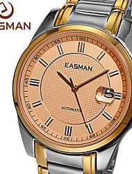 relojes de la marca de relojes de oro easman negocio mecánico automático relojes de zafiro de lujo