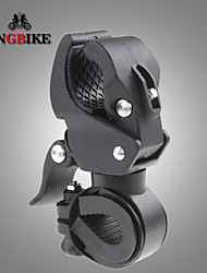360 Degree Swivel Bike Bicycle Cycle Flashlight Torch Mount LED Head Front Light Holder Clip Rubber for Diameter 10-35mm