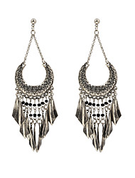 Fashion Women Vintage Metal Drop Earrings
