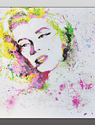 Modern Wall Decor Art Hand Painted Marilyn Monroe Picture Oil Painting On Canvas